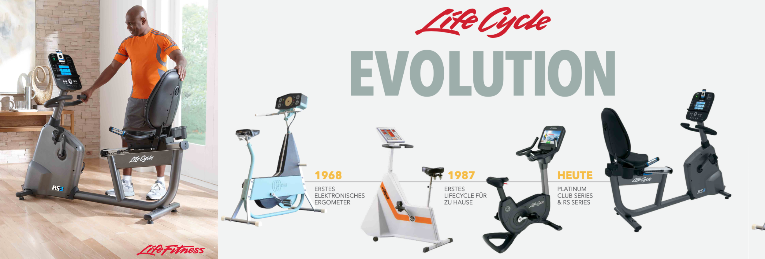 Ergometer-Life-Fitness