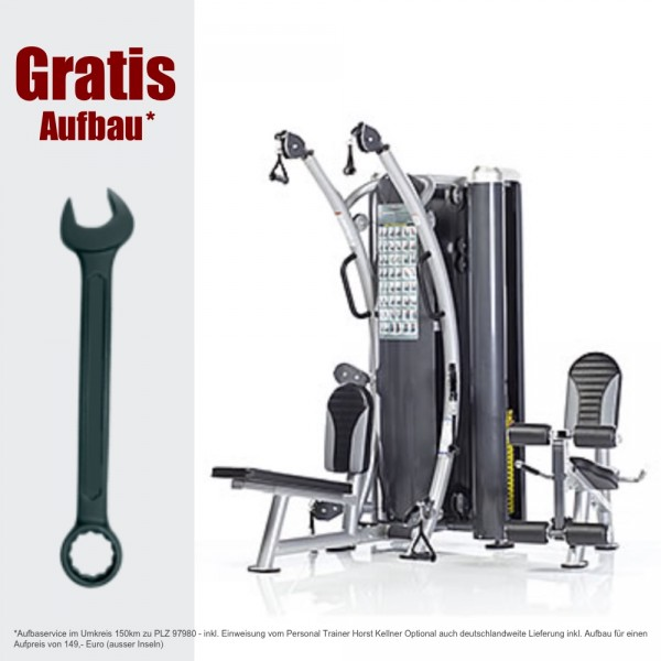 Inkl. Aufbau HTX-2000 Dual Funktional Trainer. Kabelzug/ Fitness Station