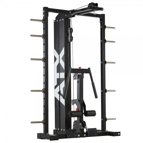 Latzuganbau für das ATX® Smith-Cable-Rack - Steckgewichte