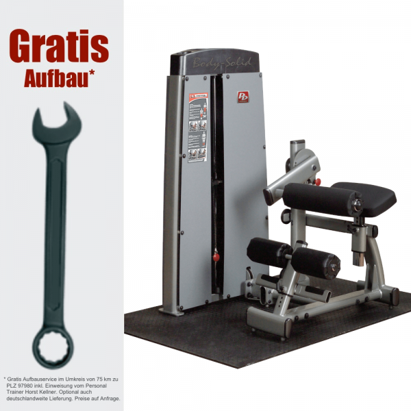 Pro Dual Bauch- und Rückenmaschine DABB-SF