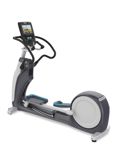EFX® 863 mit Converging CrossRamp® Modell 2017/18. Elliptical Fitness Crosstrainer