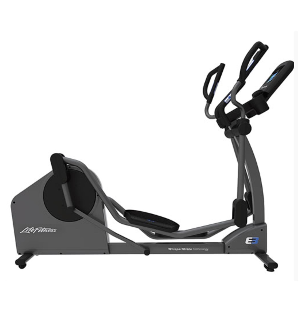 life fitness e3 track ellipsentrainer crosstrainer inkl polar ft1 pulsuhr professionell fitness. Black Bedroom Furniture Sets. Home Design Ideas