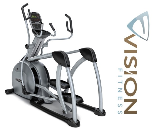 S7200 HRT Suspension Elliptical Trainer von Vision Fitness inkl. Polar FT1 Pulsuhr und T31 Brustgurt