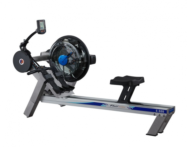 E 520 Rudergerät Fluid - Modell 2020. E-520 First Degree. Profi. Professioneller Row. Studio Garanti