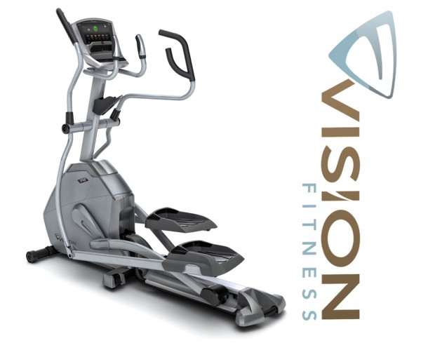 XF40i Touch Crosstrainer- Elliptical Trainer inkl. Polar FT1 Pulsuhr und Bodenmatte