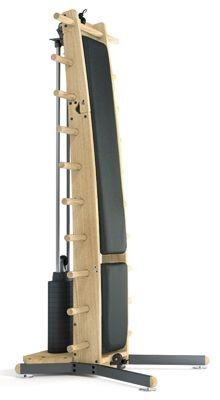 WeightWorkx - Eiche - Echtleder - Kraftstation aus Holz