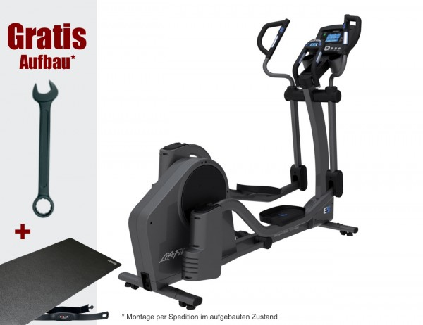 E5 Go Crosstrainer/ Ellipsentrainer inkl. Polar FT1 Pulsuhr. Aktuelles Modell