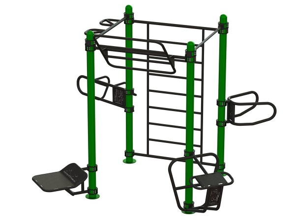 Outdoor RIG System Outdoor Functional Training Station for up to 8 users