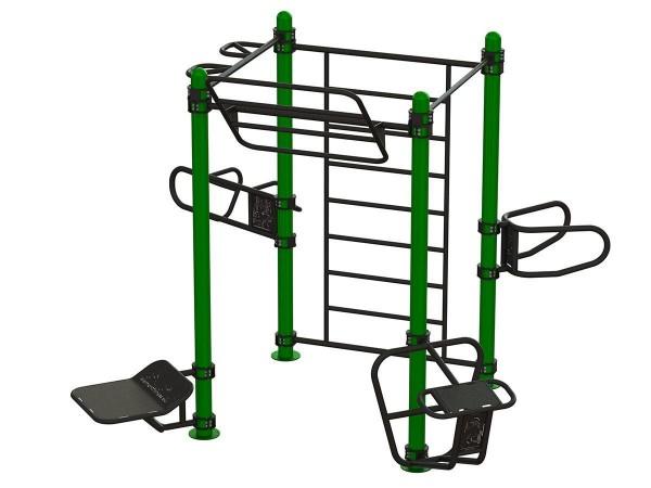 Outdoor Functional Eight-User - Eigengewicht-Trainingsstation - Fitnesspark für draußen