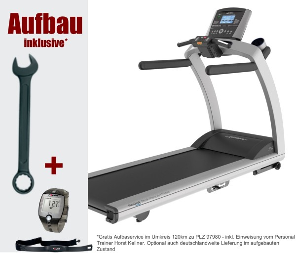 inkl. Aufbau. T5 Go Laufband inkl. Polar FT1 und Bodenmatte. Life Fitness Aktuelles Modell-Copy