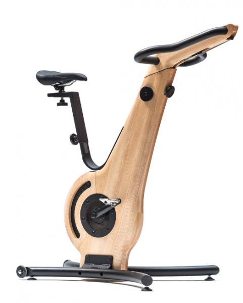 Bike - Esche - Fahrradergometer - Holz Sitzergometer