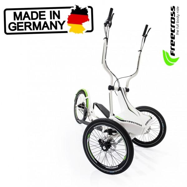Stepper für Draußen. Herstellung in Deutschland. Carbon, Shimano