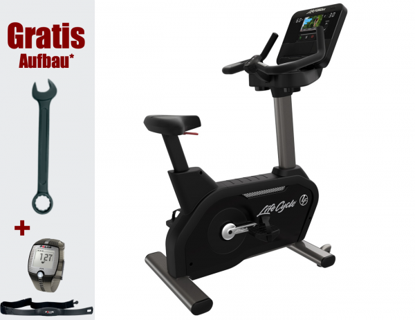 Club Series+ Lifecycle Ergometer - Studio-Sitzergometer - inkl. Montage