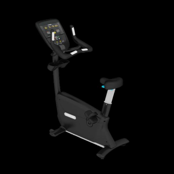 UBK 835 Precor Profi Ergometer für Fitnessstudio. Aktuelles Profimodell in schwarz. P31 Konsole