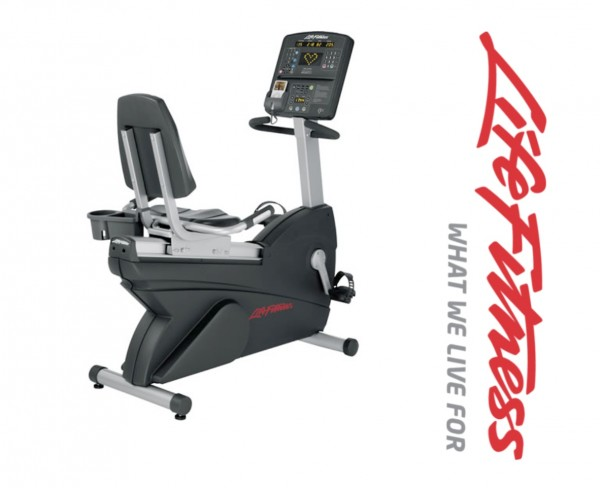 Club Serie Lifecycle CSLR Life Fitness Liegeergometer
