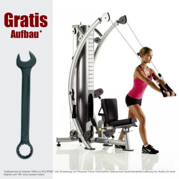 Six-Pack-Trainer inkl. AUFBAU - SPT 6X Kraftstation
