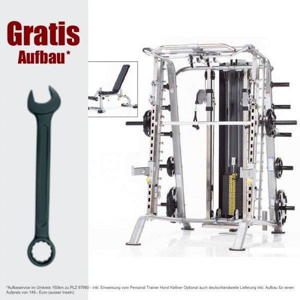 CSM-725WS inkl. GRATIS AUFBAU - Smith Machine - Fitness Station