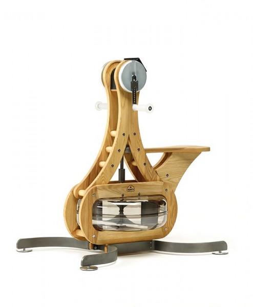 WaterGrinder - Esche - Handergometer - Holz Oberkörpertrainer