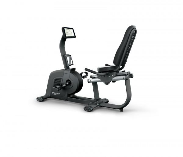RECUMBENT 4000 - Professionelles Sitzfahrrad - anthrazit / signalschwarz