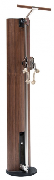 SlimBeam - Nuss Fitness Seilzuggerät aus Holz