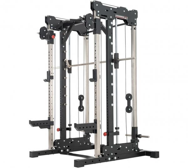 Smith Cable Rack. Stabile geführte und freie Multipresse