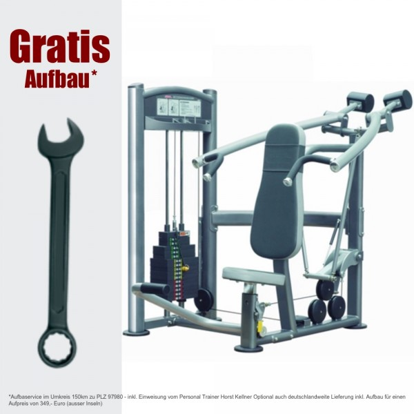 Schulterpresse - IT9312 Shoulder pres 91 kg, inkl. Aufbau