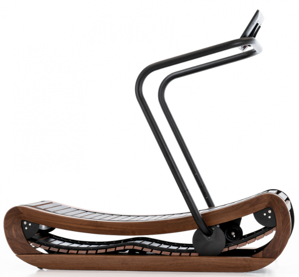 Laufband Sprintbok - Nuss / Holzlaufband