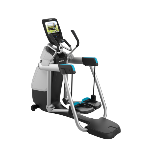 AMT 885 (grau) - Aussteller. Adaptive Motion Trainer ® Elliptical Crosstrainer, Stepper. Aktuelles M