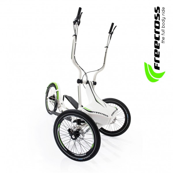 Freecross 2.0 - Aussteller Modell 2015 - Mobiler Crosstrainer. Dreirad/ Stepper