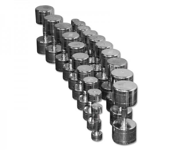 Chrom-Hantelsatz 1 bis 10 kg