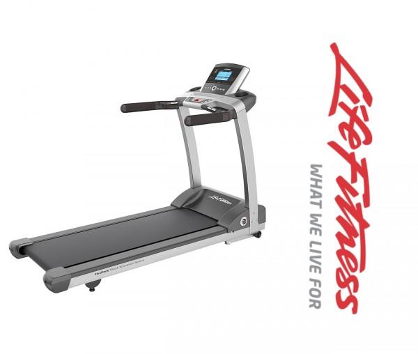 T3 Go Laufband - Aktuelles Life Fitness Modell. Gratis FT1 Polar Pulsuhr