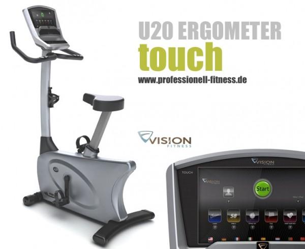 U20 Touch Ergometer inkl. Polar Pulsuhr