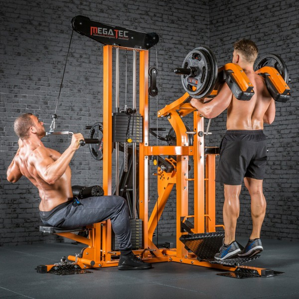 MULTIPLEX Workout Station - 4 Module Kraftstation. Fitness Turm