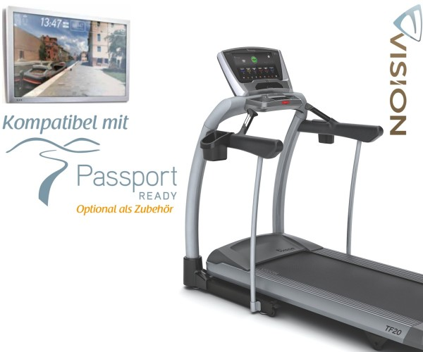 TF20 Touch Laufband inkl. Polar Pulsuhr
