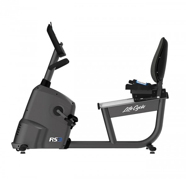 RS3 Lifecycle Ergometer mit Go Konsole - Liegeergometer - inkl. Polar FT1 Pulsuhr