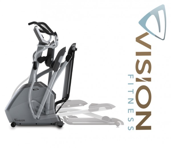 XF40i Classic Crosstrainer- Elliptical Trainer inkl. Polar FT1 Pulsuhr