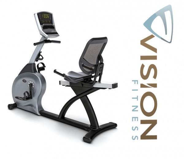 Vision Fitness R20 Classic Liegeergometer inkl. Polar Pulsuhr
