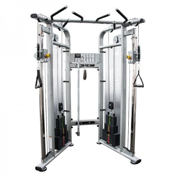Dual Pulley - Functional Trainer. Doppelkabelzug Turm inklusive Klimmzugstange