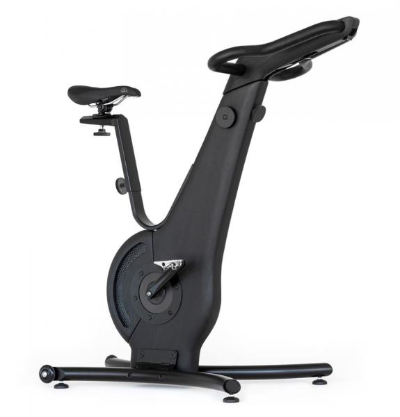 Bike - Shadow - Fahrradergometer - Holz Fahrrad in schwarz