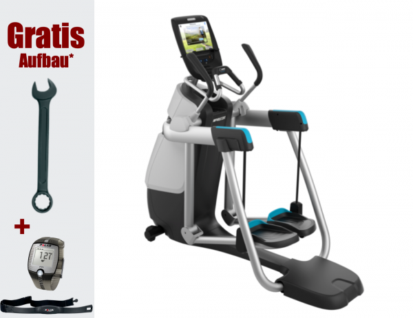 AMT 885 - Aussteller. Adaptive Motion Trainer ® Elliptical Crosstrainer, Stepper. Aktuelles Modell