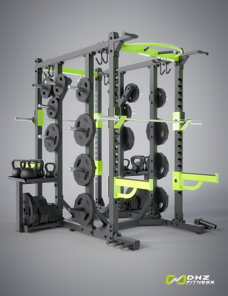 CROSSTRAINING - double rack powerrack-